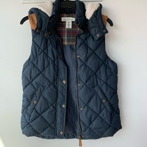 H&M/LOGG Hooded Puffer Vest